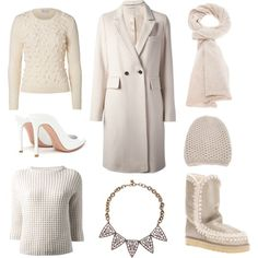 """""""White on white"""" by stockholmmarket on Polyvore"""