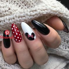 disney nail designs Discovered by ANONIMA. Find images and videos about style, girls and nails on We Heart It - the app to get lost in what you love. Disney Nail Designs, Fall Nail Art Designs, Acrylic Nail Designs, Nails Design Autumn, Girls Nail Designs, Acrylic Art, Stylish Nails, Trendy Nails, Cute Nails