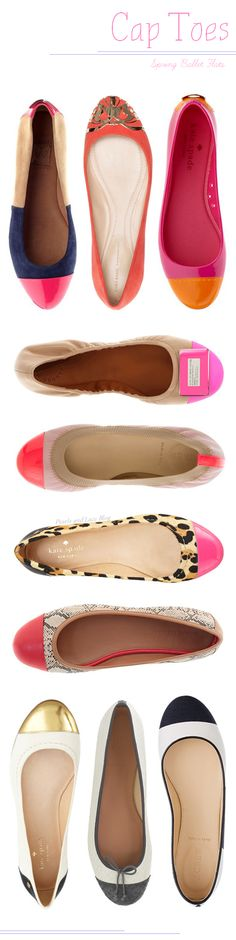 Cap toe ballet flats would be good 1 / 4 look Cute Shoes, Me Too Shoes, Keds, Moderne Outfits, Pantalon Costume, Crazy Shoes, Stilettos, Passion For Fashion, Ballet Flats