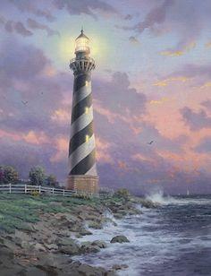 Cape Hatteras Light - Thomas Kinkade