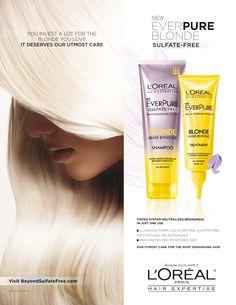 LOréal Paris Ever Pure Haircare Advertising