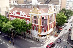 Cinemateca Capitólio  Foto: João Fiorin/PMPA  Homenagem da Foxter Cia. Imobiliaria   http://www.foxterciaimobiliaria.com.br