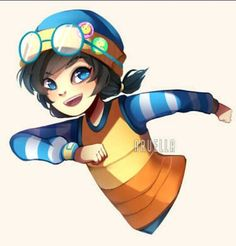 Painting trial, and it's actually kinda fun ^q^ / she's such a cutie// ah gosh! Ying has such a beautiful blue eyes tbh //// -- Ying ; Boboiboy (c) Mons. Galaxy Movie, Boboiboy Galaxy, Boboiboy Anime, I Luv U, Online Friends, Boyxboy, I Wallpaper, Your Smile, My Hero