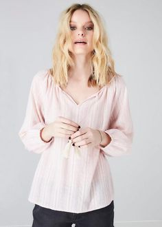 Bluse rosa 171-206 Sienna Short Blouse - pink