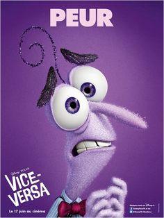 Vice-Versa (Disney Pixar) : peur (violet)
