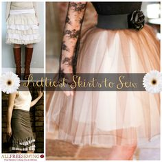 There are so many awesome things about skirts. Seriously, what is there not to love? Besides a windy day--which can easily be fixed by weighing down the hem with washers or pennies when you hem a skirt--there is nothing that can go wrong with a skirt
