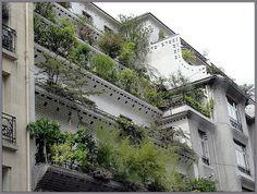 26 Rue Vavin, Paris.  Architectes Henry Sauvage et Charles Sarazin/ via Blog de Phaco: Paris et l'Art nouveau