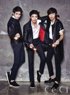 CNBLUE in the January issue of CéCi