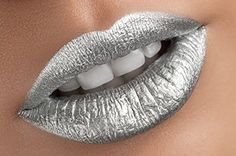 Silver Metallic Lipstick - Mirror Glamorous Chicks Cosmetics