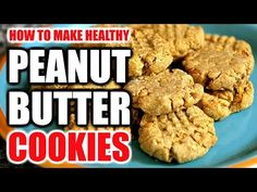 (23) HOW TO MAKE PEANUT BUTTER PROTEIN COOKIES RECIPE | Healthy Peanut Butter Protein Cookie Recipe - 1 cup of peanut butter, half a cup of protein powder, a teaspoon of vanilla and one smashed up banana