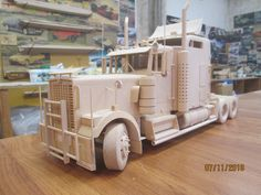 Wooden models Wooden Toy Train, Wooden Toy Trucks, Wood Toys, Lithuania, Models, Workshop, Cars, Wooden Toy Plans, Wooden Truck