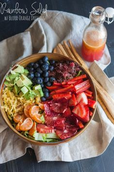 This rainbow salad is packed full of vibrant flavors, not to mention beautiful colors, and is the perfect combination of fruits and vegetables in a salad, all ingredients of which are organic. When I placed my first Door to Door Organics order I was so excited by all the produce offerings on their site that...Read More »