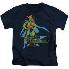 DC Comics Martian Manhunter Juvenile's Tee - Navy