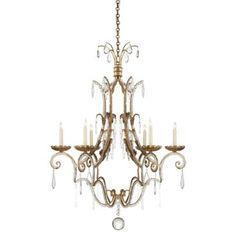 Check out this item at One Kings Lane! Middleton 6-Light Chandlier, Iron