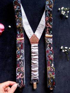 """Thanks for the kind words! ★★★★★ """"Excellent suspenders very pretty. Arrived quickly than I expected. AA work I would recommend to anyone"""" http://etsy.me/2EZPKkF"""