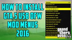 GTA 5: How to Install OFW Mod Menus PS3 (NO JAILBREAK) Online 1.26