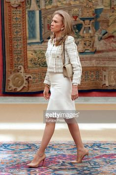 Alicia Koplowitz attends the bicentenary of the Council of The Greatness of Spain on June 16 2015 in Madrid Spain