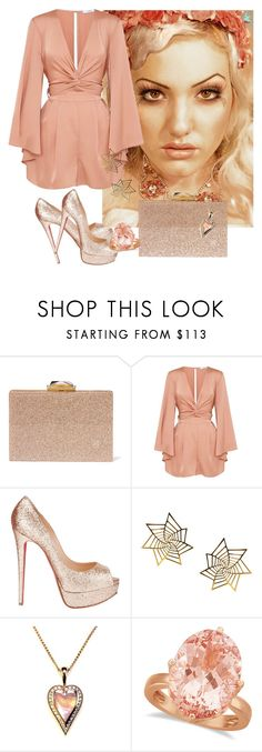 """Untitled #1043"" by mozzy18 ❤ liked on Polyvore featuring KOTUR, Christian Louboutin, Eina Ahluwalia and Allurez"