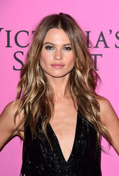 Behati Prinsloo at the 2014 Victoria's Secret Fashion Show after-party. http://beautyeditor.ca/2014/12/05/victorias-secret-after-party-2014