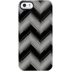 Uncommon Chevron Beats iPhone 5/5S TS Deflector Case ($19) ❤ liked on Polyvore featuring accessories, tech accessories and multi
