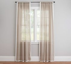 Shop Pottery Barn for custom curtains and drapes. You'll find window coverings made from linen, silk and tweed in a host of colors and styles. Cool Shower Curtains, Cheap Curtains, Hanging Curtains, Drapes Curtains, Sheer Drapes, White Curtains, Traditional Shower Curtains, Farmhouse Style Curtains, Curtains With Rings