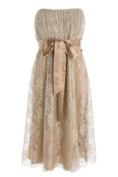 Lace bridesmaid dresses but in white
