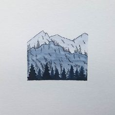 """Little minimalist mountain range. I feel the beginning of a cold Sore throat and all = 0 energy Thank you all for the fantastic feedback from yesterday's post you all made my day. On another note I ordered the Stickers and as soon as they arrive there will be a giveaway Free Shipping on orders over 30 CHF with code """"FREE"""" My shop with prints and originals. http://ift.tt/2jfRKg7 . . . #illustration #illustrations #drawing #draw #sketchbook #artwork #artworks #instaart #instaartist…"""