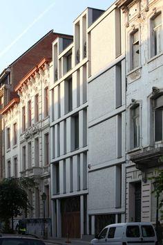 Lens°ass Architecten, Philippe Van Gelooven · Lagere School Sint-Gillis