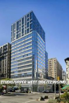 Studio apt for rent in Upper West Side at $2,995/mo.Doorman, Elevator, Health Club,New Construction, Laundry, Bicycle Room, Storage, Lounge, Valet, Roof Deck, Common Outdoor Space. Contact us for details.Web ID:11918. #NYCApartments #MovingToNYC #NYCrentals #ApartmentHunting #Moving #NYC #NoFeeApt