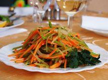 "Kyrgyz salad "" Jai salad"". Кухни Кыргызстана - Галерея рецептов"