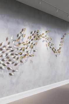 Leaf is now available as a wall mounted bespoke system: Leaf Eddy #haberdasheryltd