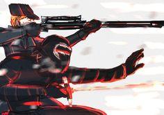 Kylux, Sniper!Hux