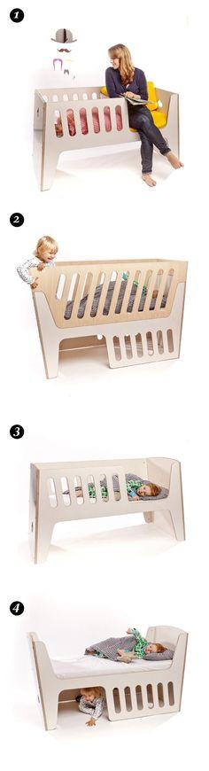 Children's bed by http://jaellundtofta.de/eng/content/rocky