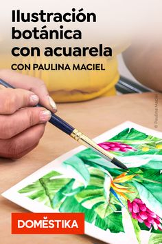 Un curso online de Ilustración de Paulina Maciel · Canela Online Illustration Course, Illustration Courses, Illustration Art, Art Watercolor, Watercolor Flowers, Illustration Botanique, Shiva Art, Medical Anatomy, Canela