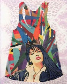 How cool is this tank? I want anything with Selena on it..