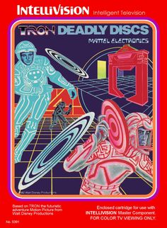 Tron: Deadly Discs for Intellivision (1982)