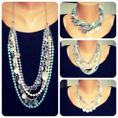 Sugar Rush Necklace several ways to wear this beautiful necklace. Let's play with it. billn9638@msn.com