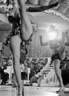 Vintage Burlesque - Chorus Girls at the Latin Quarter, 1949 - New York, New York Cabaret, Burlesque Show, Vintage Burlesque, Corsets, Folies Bergeres, Pin Up, Vegas Showgirl, Latin Quarter, Ballet