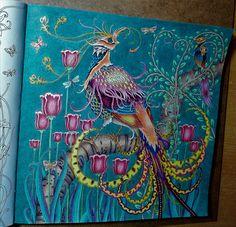 Zemlja snova; Crayola, FC polychromos, gelová pera