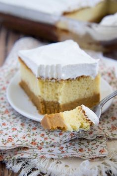 Pumpkin Magic Cake - This is a combo between pumpkin pie and pudding cake.  Definitely one to try this fall.