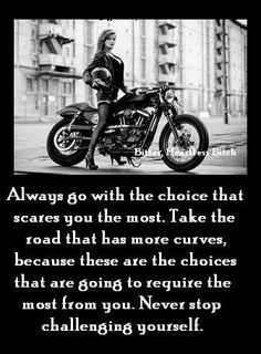 Harley Davidson....good thing to remember and work towards.