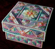 Sugar rush stitched box