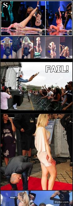 Lasting Impressions-How famous people made On Stage Fails #celebrity #fail #stage #funnypictures