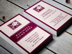 Stylish Rose Boutique Logo - Mulitpurpose Business Card Template