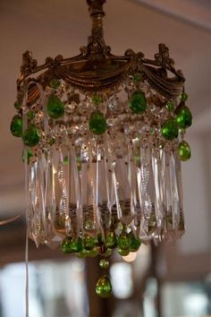 French Style Antique Crystal Chandelier
