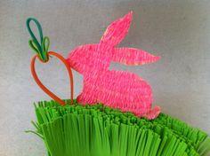 DIY Easter Paper Crafts - Easter Bunny Decor Tutorial