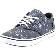 Vans Atwood Low Women US 65 Black Skate Shoe UK 4 EU 365 -- Want additional info? Click on the image.(This is an Amazon affiliate link and I receive a commission for the sales)