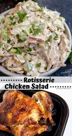 a super easy lunch or dinner? This Rotisserie Chicken Salad Recipe is quick Need a super easy lunch or dinner? This Rotisserie Chicken Salad Recipe is quick. Need a super easy lunch or dinner? This Rotisserie Chicken Salad Recipe is quick. Rotisserie Chicken Salad, Chicken Salad Recipes, Recipes Using Rotisserie Chicken, Simple Chicken Salad, Salad Chicken, Chicken Salad Recipe With Red Onion, Rotisserie Kip, Chicken Salaf, Chicken Macaroni Salad