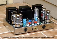 The VTA is quite the chameleon among power amplifiers. Valve Amplifier, Audio Amplifier, Audiophile, Radios, Hifi Audio, Stereo Speakers, Audio Room, Circuit Diagram, Sound & Vision