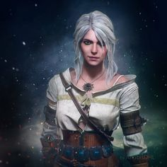 My first render of Geralt from The witcher 3 .. Hope you like it! Related --------------------------- CIRI ------> fav.me/d99hie7 XPS model + custom hair 3d max/vray + photoshop &#16...
